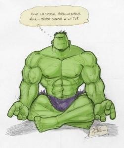 Peaceful Hulk