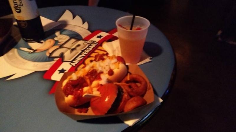 Sonic Boom 2016 Food